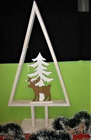 Kerstboom Houten Frame Wilpster Warenhuis