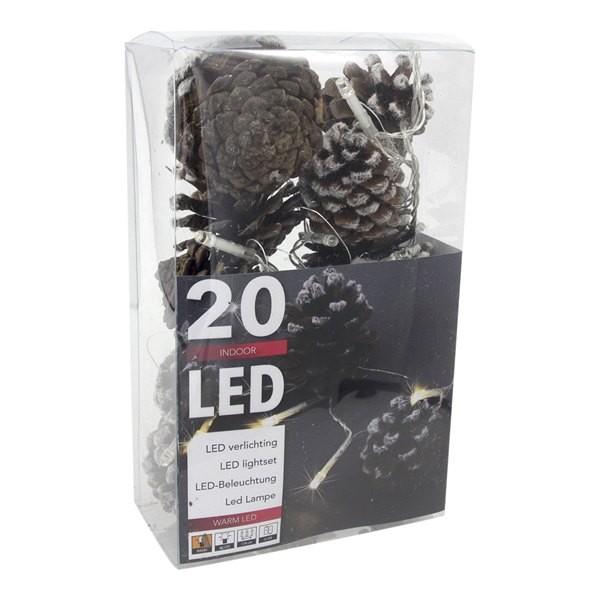 Verlichting Dennenappels 20 LED