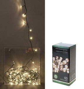 Kerstverlichting 40 LED warm wit