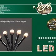 Kerstverlichting led warm wit 100 lamps