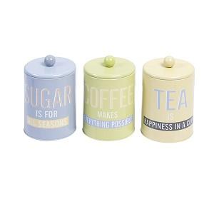 Opbergblik Coffee/Tea/Sugar