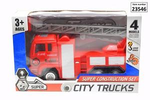 Brandweerauto met Frictie
