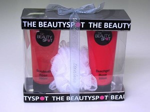 Beauty Spot Giftset rose