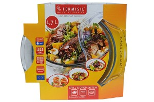 Thermisil ovenschaal glas 1,7 liter
