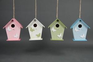 Vogelhuisje met Vlinders