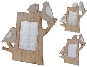Fotolijst Vogel hout