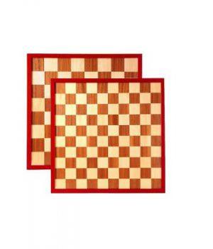 schaak dambord van hout