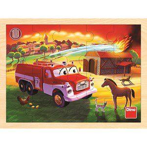 dino tatra brandweer puzzel