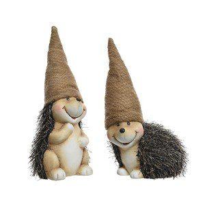 egel met hoed