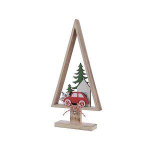 kerstboom auto