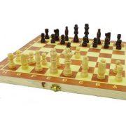 schaakspel hout