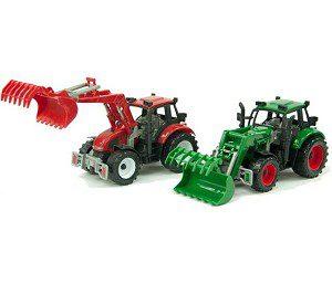 tractor met laadbak