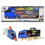 vrachtwagen met 6 voertuigen