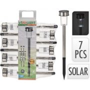 set solar lampen
