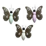 vlinder terracotta metaal